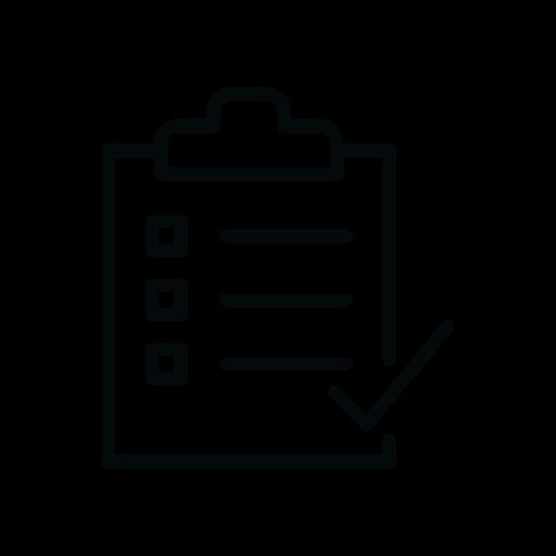 Checkmark icon.